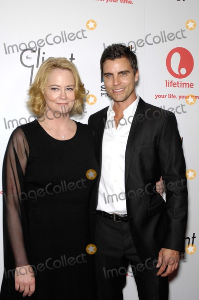 Colin Egglesfield, Cybill Shepherd, Cybil Shepherd Photo - Cybill Shepherd and Colin Egglesfield During the Red Carpet Launch of the New Series From Lifetime and Sony Pictures Television, the Client List, Held at the Sunset Towers Hotel, on April 4, 2012, in West Hollywood, California. Photo: Michael Germana - Globe Photos, Inc.