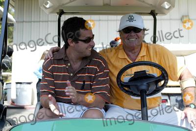 Adam Sandler, Jack Nicholson Photo - Adam Sandler & Jack Nicholson Actors in Golf Cart Afi Golf Classic 2003 Riviera Country Club, Los Angeles, USA 22/09/2003 Lag25094 Credit: Allstar/Globe Photos, Inc.