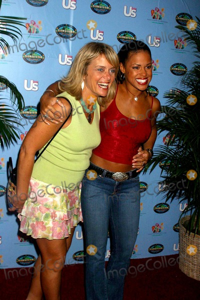 Alicia Calaway, Kathy Vavrick-O'Brien Photo - Survivor Contest Where One of the Survivor Castaways Will Win an Additional $1,000,000. Madison Square Garden, New York City. 05/13/2004 Photo: Rick Mackler / Rangefinders / Globe Photos Inc 2004 Alicia Calaway and Kathy Vavrick-o'brien