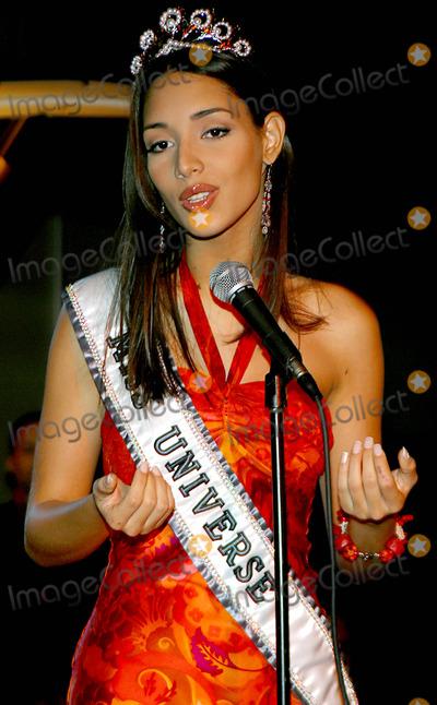 "Amelia Vega, MISS UNIVERSE Photo - the Newly Crowned Miss Universe 2003 Amelia Vega at the Legendary New York Nightclub ""the Copacabana"" in New York City 6/10/2003 Photo By:rick Mackler/rangefinders/Globe Photos, Inc"
