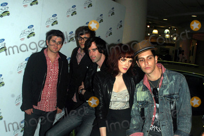Cobra Starship, Starship, Alex Suarez, Gabe Saporta, John B, Victoria Asher Photo - Manhattan Ford launch of the new Ford Fiesta with a rooftop concert featuring Cobra Starship.