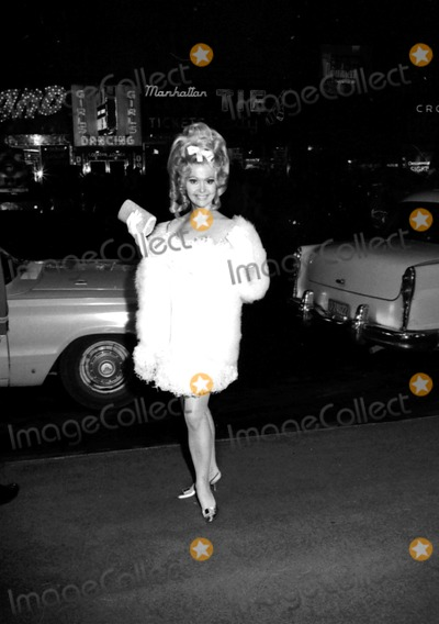 """Britt Ekland Photo - Britt Ekland at the """"Camelot"""" Premiere at the Warner Theatre Which Was Followed by a Gala Reception Ball at the Americana Hotel 1967 #23776 John Cameola/Globe Photos, Inc."""