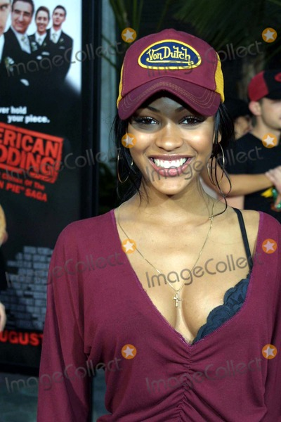 Meagan Good Wedding.Photos And Pictures 7 24 03 Premiere Of American Wedding