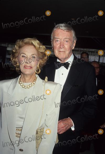 Jimmy Stewart Photo - Jimmy Stewart with Wife Gloria Photo by Craig Skinner-Globe Photos, Inc.