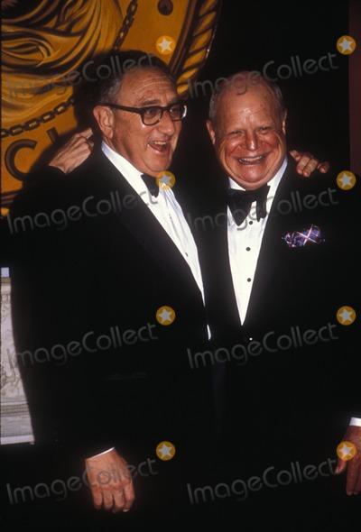 Don Rickles, Henry Kissinger Photo - Don Rickles with Henry Kissinger 1988 Photo by Adam Scull-Globe Photos, Inc.