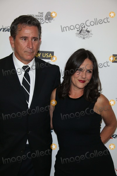 Anthony Lapaglia, Gia Carides Photo - Anthony Lapaglia and Gia Carides Attend the 2014 G'day USA Los Angeles Black Tie Gala at Jw Marriott Hotel at L.A. Live in Los Angeles, USA, on 11 January 2014. Photo: Alec Michael Photo by Alec Michael - Globe Photos, Inc