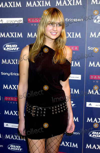 Michelle Branch, Amber Arbucci Photo - Maxim Sno Magazine Party Hosted by January Cover Girl Michelle Branch, New York City 12/10/2003 Photo: John Krondes/ Globe Photos Inc. 2003 Amber Arbucci