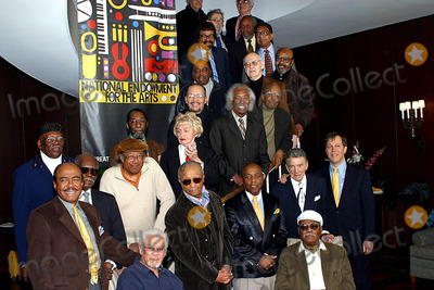 Dave Brubeck, Group Shot, Anita O'Day, Benny Golson, Billy Taylor, Chico Hamilton, Clark Terry, Gerald Wilson, Hank Jones, Horace Silver, James Moody, Jim Hall, Percy Heath, Ron Carter, Roy Haynes Photo - K35118RM