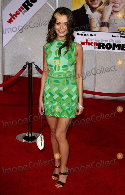 """Alexis Dziena Photo - Alexis Dziena Actress """"When in Rome"""" Premiere at the El Capitan Theater, Hollywood, CA. 01-27-2010 Photo by Graham Whitby Boot-allstar-Globe Photos, Inc. 2010"""