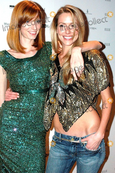 """Allison McAtee Photo - Elle Project Hosts Viewing Party For 2nd Season Premiere of Bravo's """"Project Runway"""" and Launch of Project Runway Magazine. Aer, New York City 12-07-2005 Photo by Ken Rumments-Globe Photos 2005 Grace Kelsey and Allison Mcatee"""