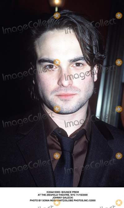 Johnny Galecki Photo - : Bounce Prem at the Ziegfeld Theatre, NYC 11/15/2000 Johnny Galecki Photo by Sonia Moskowitz/Globe Photos,inc.