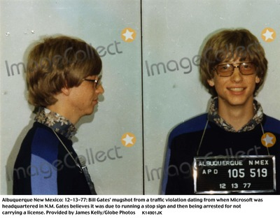 Photos and Pictures - Albuquerque New Mexico: Bill Gates' Mugshot