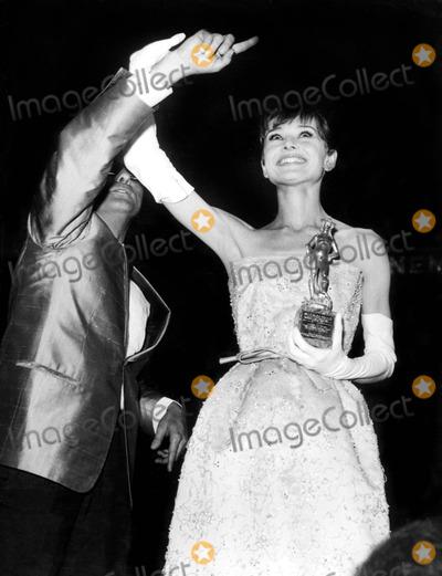 Audrey Hepburn, The Interns Photo - Audrey Hepburn at the International Cinema Festival of Taormina 7/30/1962 Foto Italia/ipol/Globe Photos, Inc. Audreyhepburnretro