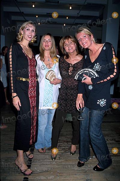 Alice Sykes, Allegra Hicks Photo - Allegra Hicks Spring/summer 2003 Fashion Show, NYC 09/20/02 Photo by Rose Hartman/Globe Photos, Inc. 2002 Allegra Hicks Milly DE Cabrol Alice Sykes