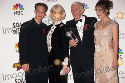 Aaron Spelling, Randy Spelling, Tori Spelling Photo - Tori Spelling with Father Aaron Spelling , Mother Candy Carol Jean Marer Spelling and Brother Randy Spelling 13th Annual Soap Opera Digest Awards in Los Angeles 1997 Photo by Fitzroy Barrett-Globe Photos, Inc.