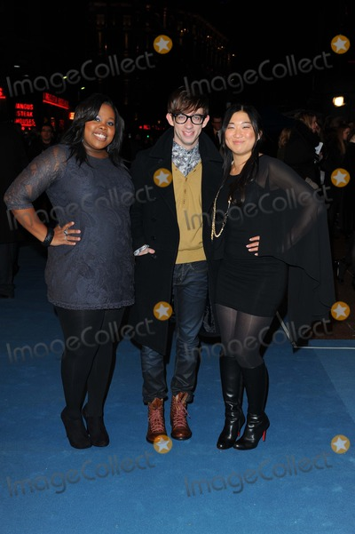 Jenna Ushkowitz, Amber Riley, Kevin McHale, Leicester Square Photo - Amber Riley, Kevin Mchale & Jenna Ushkowitz Actors at the Tron Legacy Film Premiere Empire Leicester Square London, England United Kingdom 12-05-2010 Photo by Neil Tingle-allstar-Globe Photos, Inc.