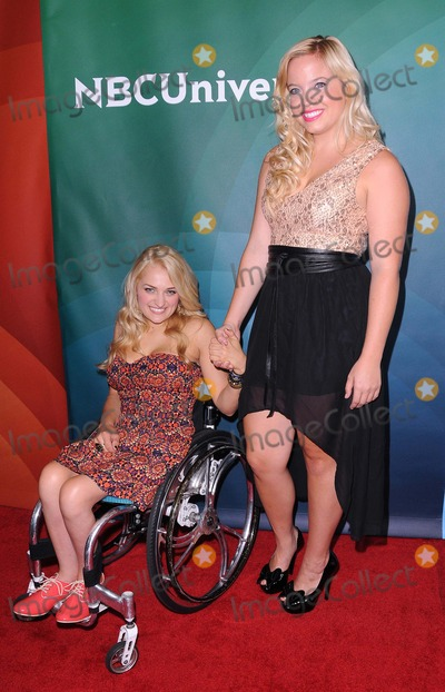 Ali Stroker, Shanna Henderson Photo - NBC Universal Summer Press Tour at the Beverly Hilton in Beverly Hills, CA 7/25/12 Photo by James Diddick-Globe Photos copyright 2012 Ali Stroker and Shanna Henderson