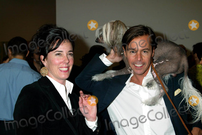 Andy Spade, Kate Spade Photo - Sd0521 Canine Cocktail Party to Benefit Art For Animals. Gagosian Gallery,new York City Photo:sonia Moskowitz / Globe Photos Inc2003 Kate and Andy Spade