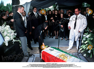 Farah Pahlavi, Passy, As Yet, Iman, Prince, Prince Ali Photo - IMAPRESS. PH : CLEMOT / BENITO.