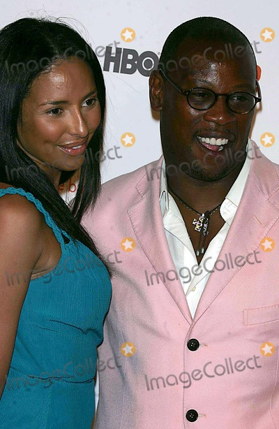 Andre Harrell, Jessica Robinson Photo - Cingular Hold a Gala to Launch the Release of Hbomobile at Mr. Choe's Restaurant Tribeca 05-31-2006 Photos by Rick Mackler Rangefinder-Globe Photos Inc.2006 Jessica Robinson with Andre Harrell