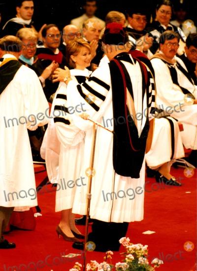 Jane Pauley Photo - Desiree Washington Graduation Day, Providence College, R.I. 1995 Jane Pauley Credit: Globe Photos, Inc.