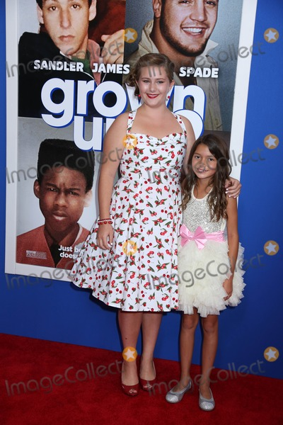 """Alexys Nycole-Sanchez, ADA-NICOLE SANGER Photo - """"Grownups 2"""" Premiere Amc Loews Lincoln Square, NYC July 10, 2013 Photos by Sonia Moskowitz, Globe Photos Inc 2013 Ada Nicole Sanger, Alexys Nycole Sanchez"""