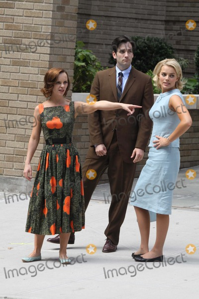 Christina Ricci, Margot Robbie, Colin Donnell Photo - Christina Ricci,colin Donnell,margot Robbie on the Set of Abc New Tv Show ''Pan Am'' on W.158 St to Look Like Germany in 1960's 8-11-2011 Photo by John Barrett/Globe Photos, Inc.