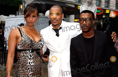 Ashley Walters, Javine, Javine Hylton, Ashley Walter Photo - Javine Hylton and Harvey and Ashley Walters Singer, Rapper and Actors at the Hancock Film Premiere Vue Cinema, West End, London 06-18-2008 Photo by Neil Tingle-allstar-Globe Photos