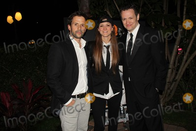 "Audrey Hepburn, Christian Oliver, Tom Malloy Photo - Dream Builders Project Presents the 2nd Annual ""a Brighter Future For Children"" to Benefit the Audrey Hepburn Cares Center at Children's Hospital Los Angeles Taglyan Cultural Complex, Hollywood, CA 03/05/2015 Christian Oliver, Angelina Christina and Tom Malloy Clinton H. Wallace/ipol/Globe Photos"