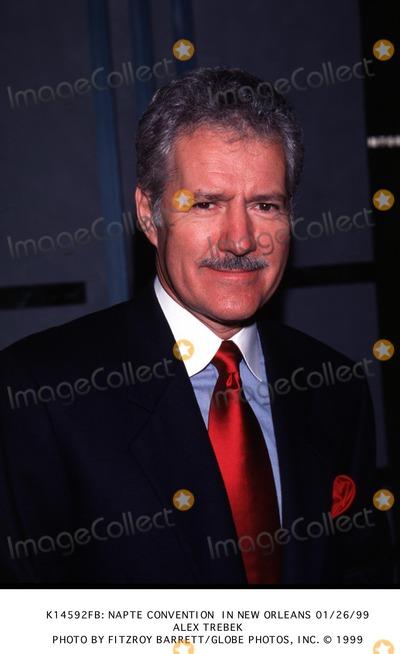 Alex Trebek Photo - : Napte Convention in New Orleans 01/26/99 Alex Trebek Photo by Fitzroy Barrett/Globe Photos, Inc.