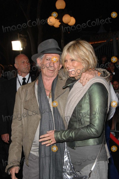 Patti Hansen, Walt Disney, Keith Richards Photo - Keith Richard and Patti Hansen During the Premiere of the New Movie From Walt Disney Pictures Pirates of the Caribbean: on Stranger Tides, Held at Disneyland, on May 7, 2011, in Anaheim, california.