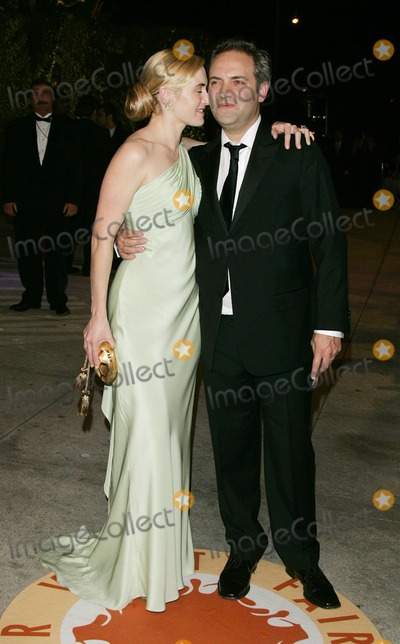 Kate Winslet, Sam Mendes Photo - Kate Winslet, Sam Mendes Actress & Director K51945 79th Annual Academy - Oscar Awards Vanity Fair Party at Morton's , Los Angeles CA. 02-25-2007 Photo by Graham Whitby-allstar-Globe Photos, Inc.