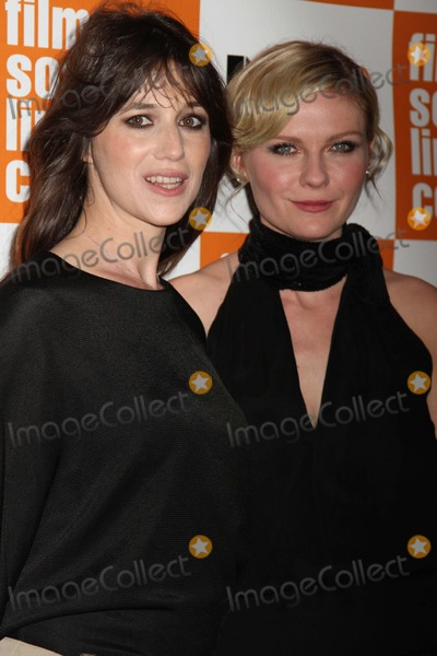 """Charlotte Gainsbourg, Kirsten Dunst Photo - The 49th Annual New York Film Festival Presents the Nyff Presentation of """"Melancholia"""" Alice Tully Hall, NYC October 3, 2011 Photos by Sonia Moskowitz, Globe Photos Inc 2011 Charlotte Gainsbourg, Kirsten Dunst"""