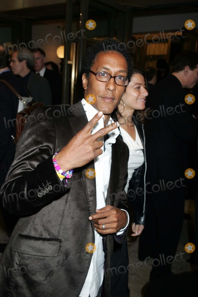 """Andre Royo Photo - Opening Night For the Play """"Reckless"""" Biltmore Theatre, New York City. 10/14/2004 Photo by Rick Mackler/rangefinder/Globe Photos, Inc. 2004 Andre Royo"""