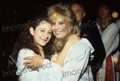 Sara Gilbert Photo - Sara Gilbert with Mother Barbara Crane Cowan Photo by Bob V. Noble-Globe Photos, Inc.