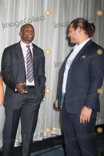 Amani Toomer Photo - Exclusive L-r Amani Toomer Markus Kuhn attends the 22nd Annual Gridiron Gala at New York Hilton Midtown on 5/12/2015 in NYC