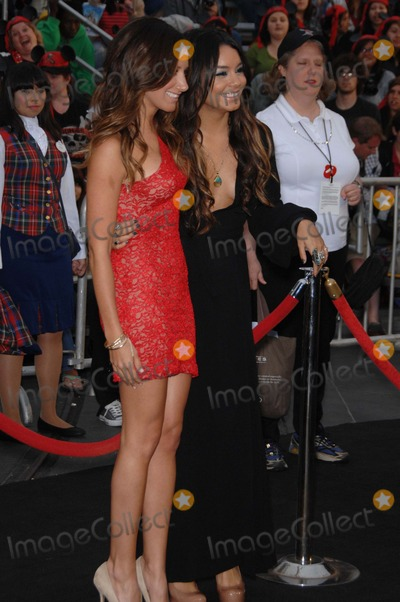 Ashley Tisdale, Vanessa Hudgens, Walt Disney, Vanessa  Hudgens Photo - Ashley Tisdale and Vanessa Hudgens During the Premiere of the New Movie From Walt Disney Pictures Pirates of the Caribbean: on Stranger Tides, Held at Disneyland, on May 7, 2011, in Anaheim, california.
