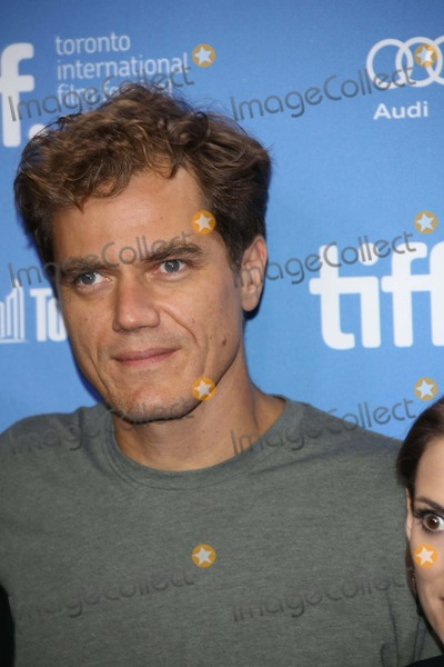 """Michael Shannon, Michael Bublé, Michael Paré Photo - Actor Michael Shannon Poses Before the Press Conference of """"Iceman"""" During the Toronto International Film Festival at Bell Lightbox in Toronto, Canada, on 10 September 2012. Photo: Alec Michael Photo by Alec Michael-Globe Photos"""