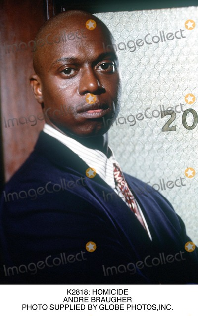 Andre Braugher Photo - : Homicide Andre Braugher Photo Supplied by Globe Photos,inc.