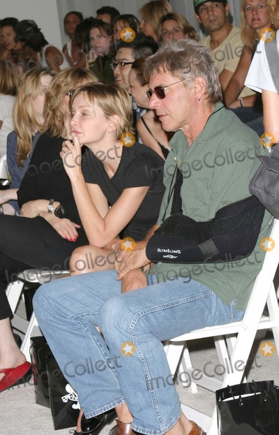 Photos and Pictures - HARRISON FORD CAME WITH CALISTA FLOCKHART TO