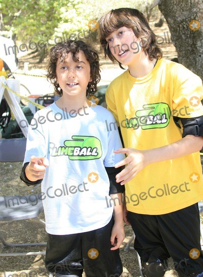 Nat Wolff, Alex Wolff, Naked Brothers, Naked Brothers Band, The Naked Brothers, The Naked Brothers Band Photo - Alex Wolff and Nat Wolff (the Naked Brothers Band) - Nickelodeon's Summer of Slime - Golden Oak Ranch, Newhall, California - 07-02-2007 - Photo by Nina Prommer/Globe Photos Inc 2007