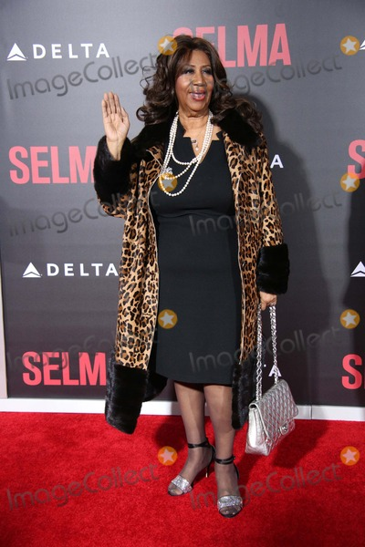 "Aretha Franklin Photo - The New York Premiere of ""Selma"" the Ziegfeld Theater, NYC December 14, 2014 Photos by Sonia Moskowitz, Globe Photos Inc 2014 Aretha Franklin"