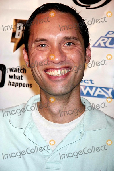 """Andrae Gonzalo Photo - Outfest and Bravo Presents """"Project Runway"""" Season 3 Launch Party Sponsored by Absolut Vodka & Heineken Ivar, Hollywood, CA 07-07-2006 Photo: Clinton H. Wallace-photomundo-Globe Photos Inc Andrae Gonzalo"""