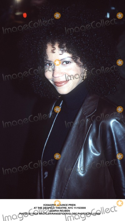 Gloria Reuben Photo - : Bounce Prem. at the Ziegfeld Theatre, NYC 11/15/2000 Gloria Reuben Photo by Rick Mackler/rangefider/Globe Photos,inc.