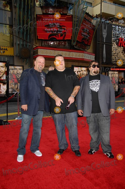 "Austin ""Chumlee"" Russell, Austin 'Chumlee' Russell, Corey Harrison, Rick Harrison, Grauman's Chinese Theatre Photo - Rick Harrison, Corey Harrison and Austin Chumlee Russell During the Premiere of the New Movie From 20th Century Fox the A-team, Held at Grauman's Chinese Theatre, on June 3, 2010, in Los Angeles. Photo: Michael Germana - Globe Photos, Inc. 2010"