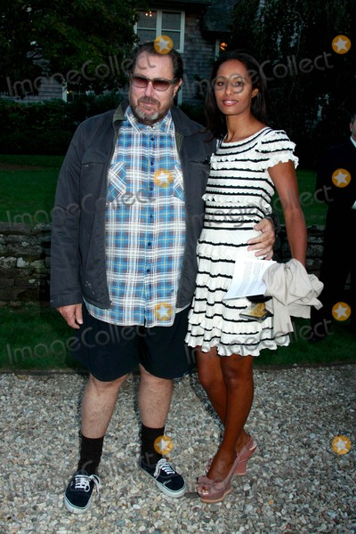 Julian Schnabel, Rula Jebreal Photo - The Hamptons International Film Festival Chairman's Reception Stuart Match Suna Residence, East Hampton, NY 10-09-2010 Photos by Sonia Moskowitz, Globe Photos Inc 2010 Julian Schnabel and Rula Jebreal