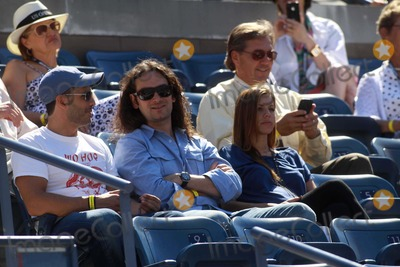 Constantine Maroulis, ANGEL REED Photo - Constantine Maroulis and New Wife Angel Reed Whom Is 6 Months Pregnant on Day 8 of Us Open Tennis, Flushing, NY. 09-06-2010 Photo by John Barrett/Globe Photos, Inc.2010