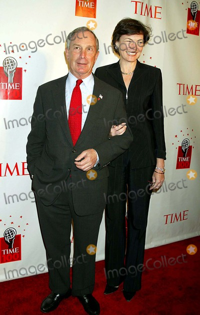 Michael Bloomberg, DIANA TAYLOR Photo - Time Magazine Celebrates Its List of the 100 Most Influential People in the World at the Time Warner Center's Jazz at Lincoln Center, New York City. 05-08-2006 Photo: Sonia Moskowitz - Globe Photos Inc 2006 K47773smo Michael Bloomberg and Diana Taylor