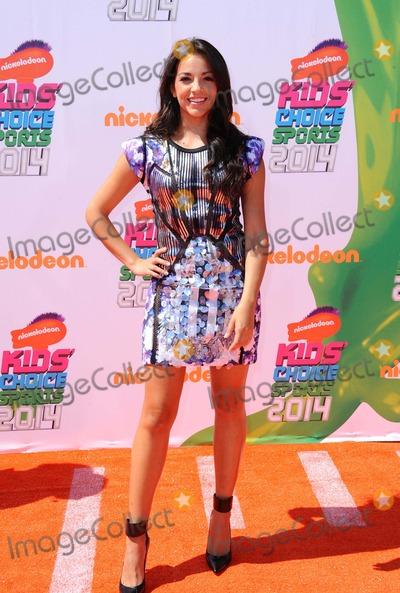 Ana Villafane Photo - Ana Villafane attending the 2014 Nickelodeon Kids' Choice Sports Awards Held at the Ucla's Pauley Pavilion in Los Angeles, California on July 17, 2014 Photo by: D. Long- Globe Photos Inc.