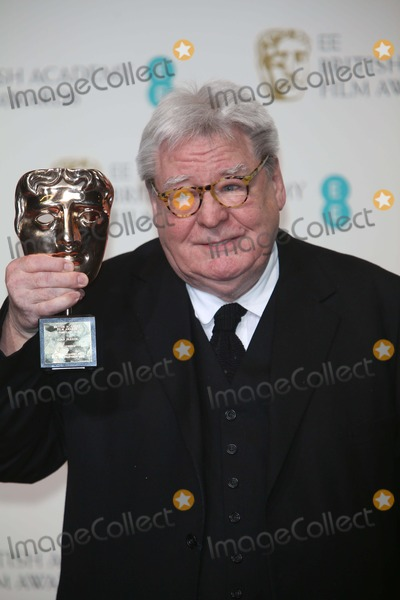 Alan Parker Photo - Director Alan Parker Poses in the Press Room of the Ee British Academy Film Awards at the Royal Opera House in London, England, on 10 February 2013. Photo: Alec Michael Photo by Alec Michael- Globe Photos, Inc